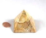 Yellow Jasper Pyramid