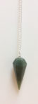 Moss Agate Pendulum