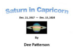 Saturn transits Capricorn
