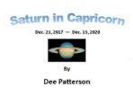 Saturn transits Capricorn