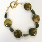 Jasper and Adventurine Bracelet