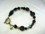 Black Multi-Bead Bracelet
