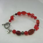 Red Multi-Bead Bracelet