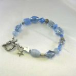 Light Blue Multi-Bead Bracelet