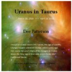 Uranus in Taurus CD